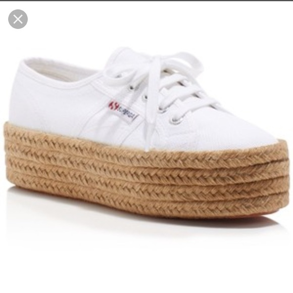 the sale of shoes new design amazing selection Superga Shoes | Woven Platform Sneakers | Poshmark